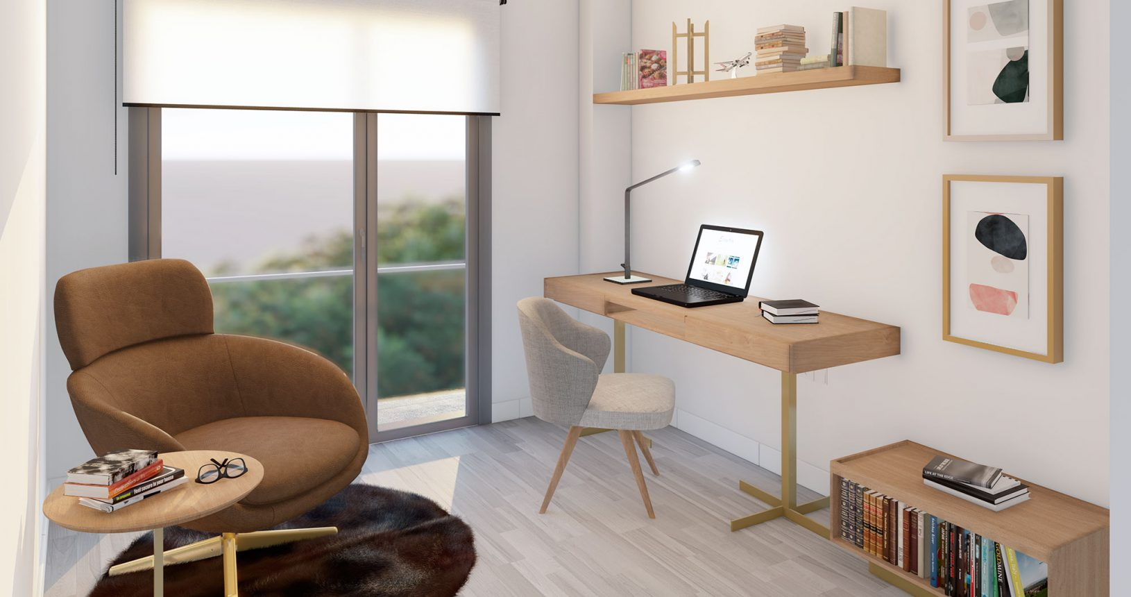 Despacho en ático de la promoción de viviendas Bilbao en Paiporta