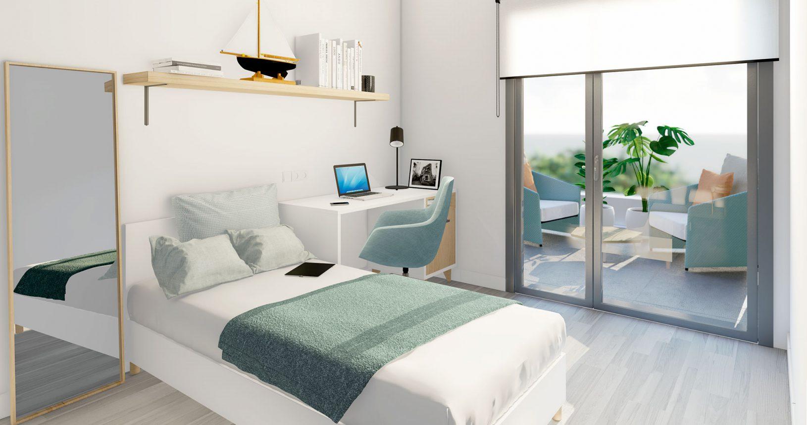 Promoción Paramera Inmobiliaria Ciencasas Paiporta habitación