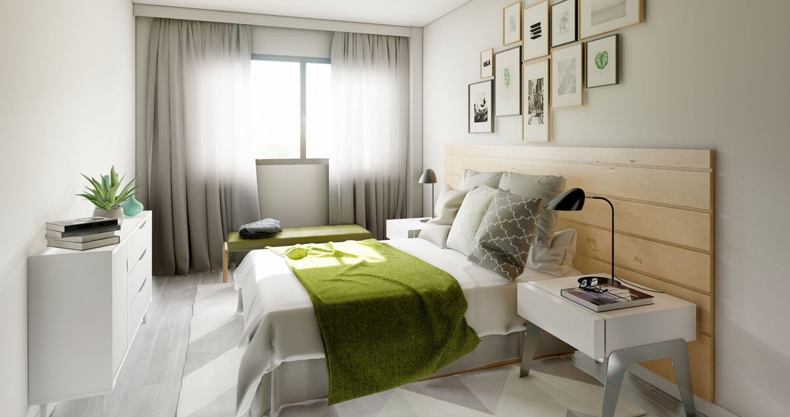 Promoción Paramera Inmobiliaria Ciencasas Paiporta habitación principal